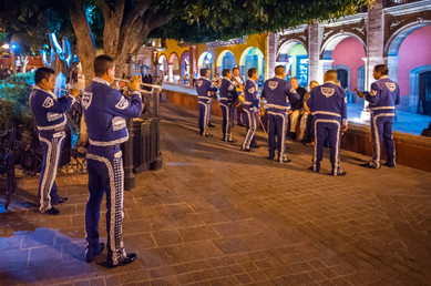 What Is The Collective Noun for Mariachis? A Cacophony! San Miguel de Allende, Mexico