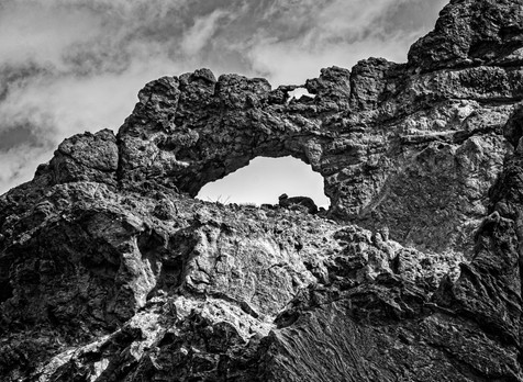 Double Arch in Black and White