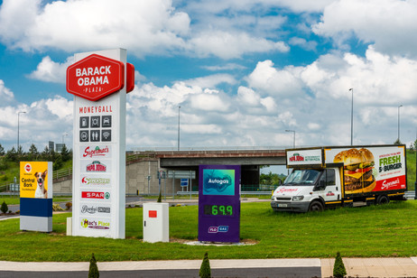 The Barack Obama Travel Plaza - Along the M7 - Moneygall, County Offaly