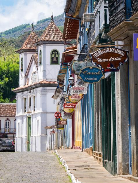 Colonial Brazil - Mariana, Minas Gerais, Brazil