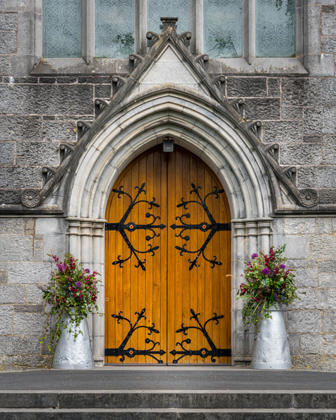 Church Door - Adare, County Limerick