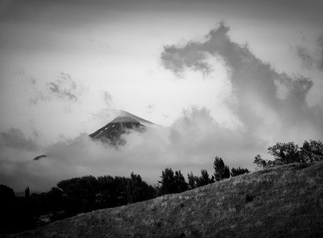 Mount Taranak and Cloud - New Plymouth, New Zealand