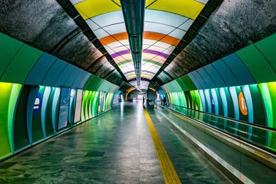 The Colorful Subways of Rio - Rio de Janeiro, Brazil