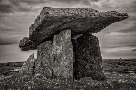 Poulnabrone Dolmen - An Ancient Tomb in The Burren, Ireland