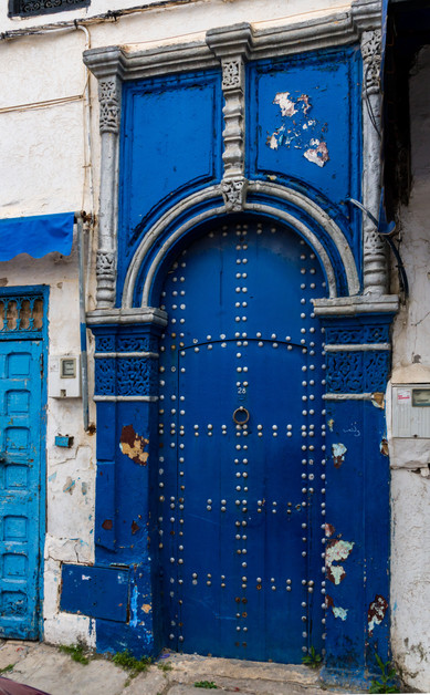 Blue Door - Rabat, Morocco
