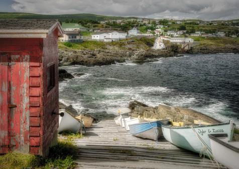 Pouch Cove Wharf - Newfoundland