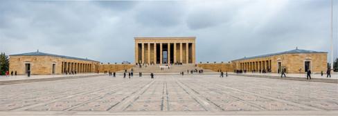 Panorama Ataturk's Tomb - Ankara, Turkey