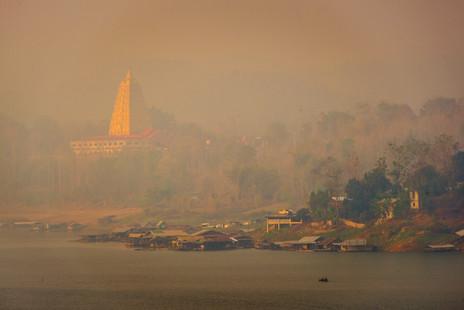 Chedi Phuttakhay - Sangklaburi