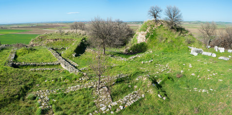 The Ancient Ruins of the Long Lost Legendary City of Troy - Turkey