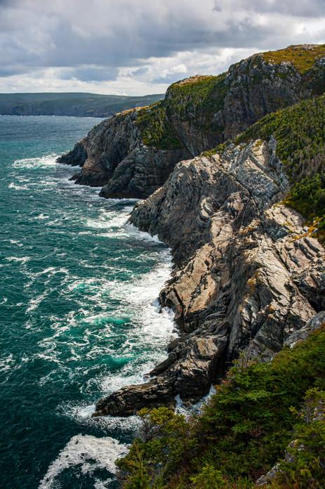 Typical of the Wild Atlantic Coast of Newfoundland - Cape St. Francis, Newfoundland