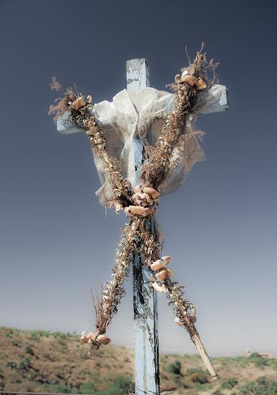 Decorated Cross - San Miguel de Allende, Mexico