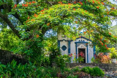 A Beautiful Little Chapel on the Island of Ilhabela - Ilhabela, Sao Paulo, Brazil