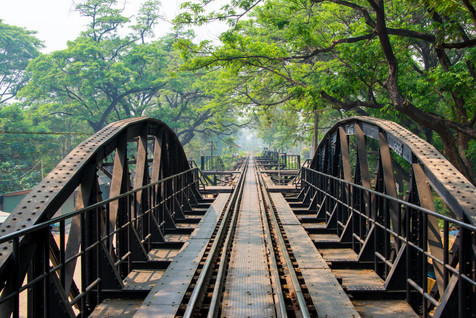 Bridge Over the River Kwai - Kanchanaburi