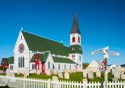 Church Road and Stoneman's Lane - Trinity, Newfoundland