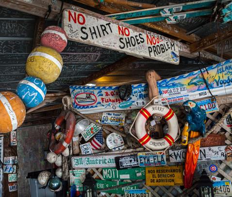No Shirt No Shoes No Problem - Key West, Florida