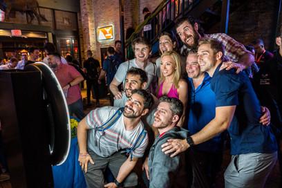 Bonding for a Selfie Event Reception