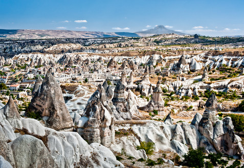 The Incredible Landscape of Cappodocia - Goreme, Turkey