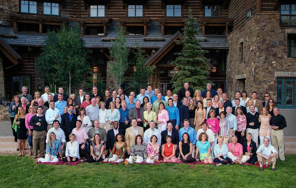Color Group Photo Ritz Carlton Bachelor Gulch