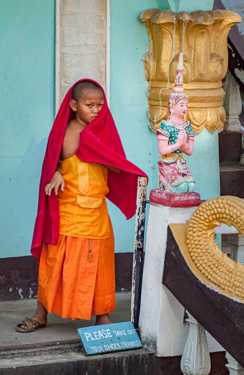 Young Monk - Luang Prabang, Laos.