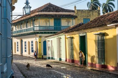 Dawn Breaks on the Beautiful Colonial Town of Trinidad - Trinidad, Cuba