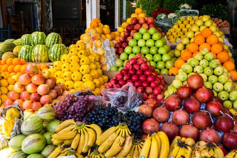 Fruit Sellers Display - Bodrum, Turkey