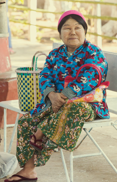 Not Her PJs I Guess - Hsipaw, Myanmar