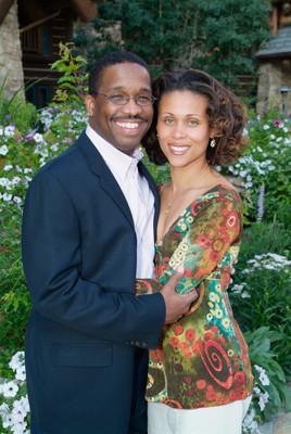 Outdoor Couples Portrait