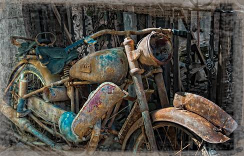 Cucurcuma Motorcycle - Beyoglu, Istanbul, Turkey