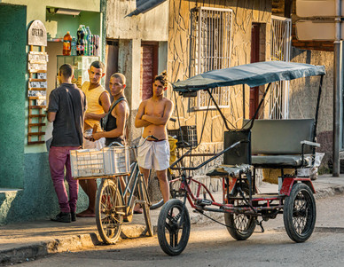 Trinidad Market at Sunset - Trinidad, Cuba