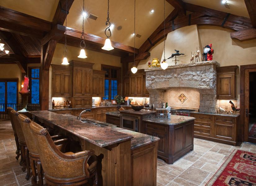 Kitchen - Mountain Star, Colorado