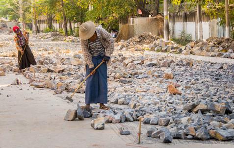 Road Construction - Mandalay