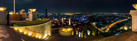 Lebua Atop the State Tower - Silom, Bangkok