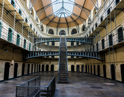 The Interior of the Infamous Kilmainham Gaol - Dublin
