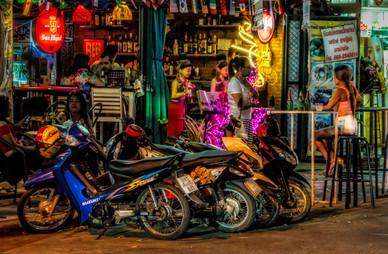 The Bar Scene - Kanchanaburi