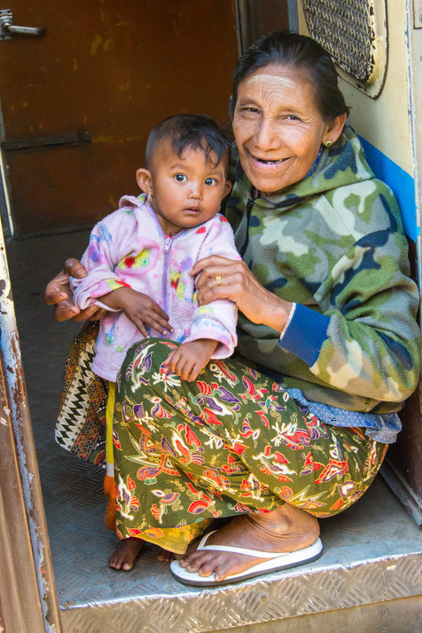 Madonna and Child - Hsipaw