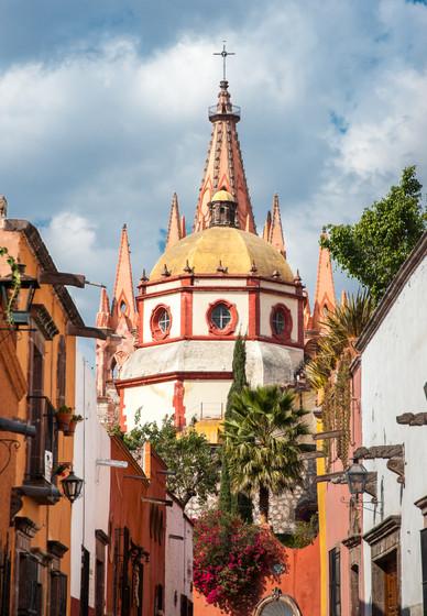 View of the Parroquia - San Miguel de Allende, Mexico