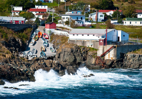 Pouch Cove Fishing Stage - Pouch Cove, Newfoundland