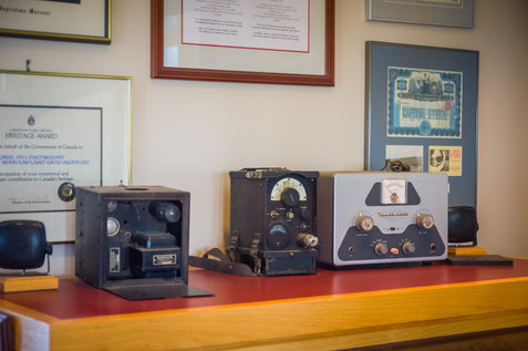 Transmitters from Long Ago - Signal Hill, St. John's, Newfoundland