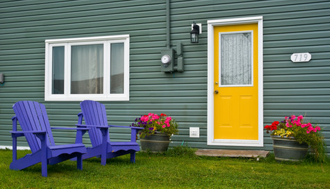 Someone's Front Yard - Pouch Cove, Newfoundland