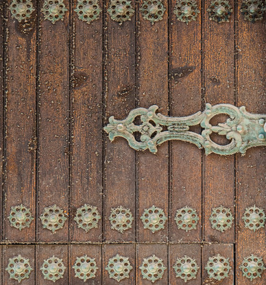 Door Detail Cartagena, Andalusia, Spain