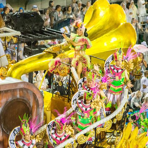 Carnival in Rio - Rio de Janeiro, Brazil