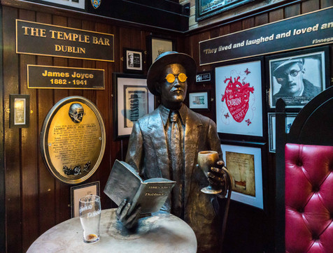 Joyce Loved This Place - The Temple Bar, Dublin