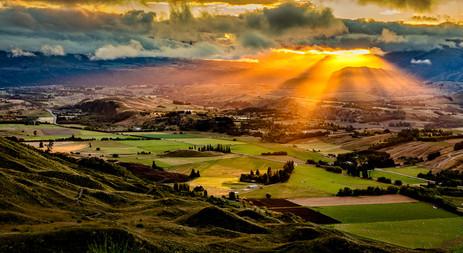 Sunrise From Coronet Peak - Arrowtown