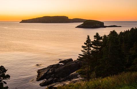 Sunrise Along the Southeast Coast - Witless Bay Ecological Reserve, Newfoundland