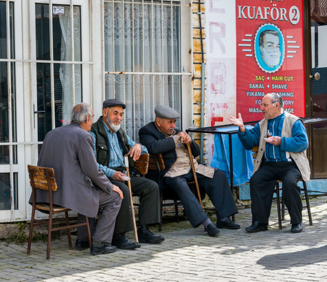 Philosophers Philosophizing - Kusadasi, Turkey