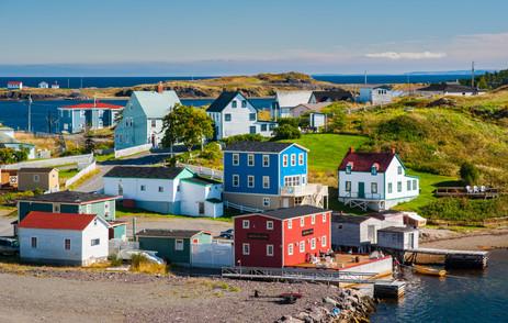 Colorful Trinity on a Lovely Day - Trinity, Newfoundland