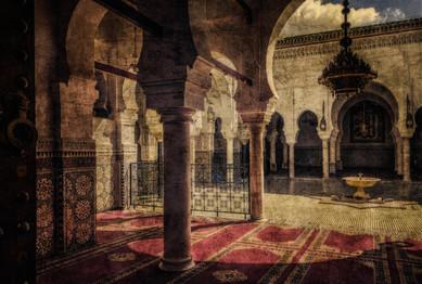 Mosque Courtyard - Fes, Morocco