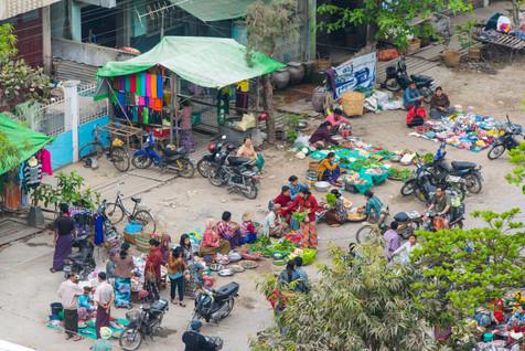 Mandalay Street Market