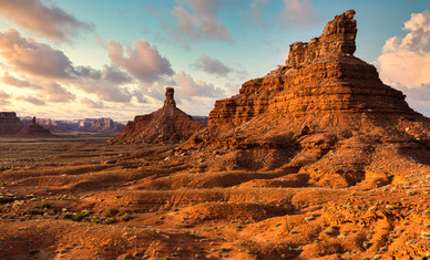 Southern Buttes at Sunrise - Utah