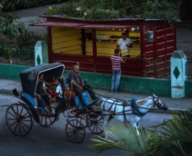 Dusk Descends Upon the Streets of Bayamo - Bayamo, Cuba
